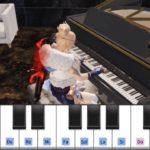 #荒野行動のマイトピアで炭治郎のうたをピアノで弾いてみた!
