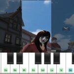荒野行動マイトピアの【ピアノ】で【マリーゴールド】弾いてみた