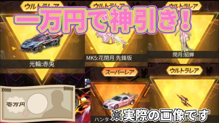 今回の三国志ガチャ、一万円でこんなに神引きしたのは僕だけでしょ!マクラーレンゲットしちゃった!【荒野行動】
