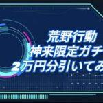 【荒野の光】本日実装された「神来限定ガチャ」2万円分引いてみたら・・・