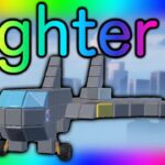 Made a big fighter -Astracraft