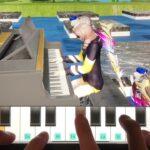【荒野行動】マイトピアのピアノでクリスマスの曲を弾いてみた【ピアノ】