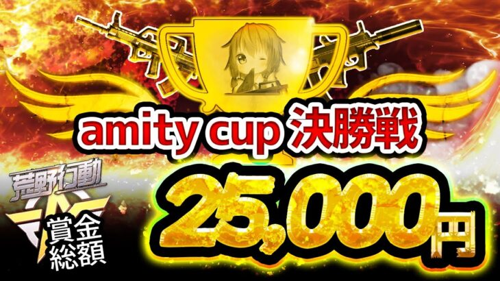 【荒野行動】amity cup 決勝🏆 高額実況!