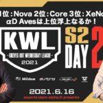 【荒野行動】真KWL 6月度 DAY2【1位:Nova! 2位:Core & 3位:XeNo が猛追!】実況:Bocky&柴田