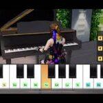 【荒野行動】マイトピアのピアノでパプリカサビ前まで弾いてみた